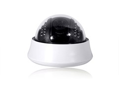 4-9mm Vari-Focal 65ft IR Indoor Dome Camera w/Audio