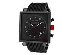 Red Line 50036-BLK Compressor2 Chronograph IP Square