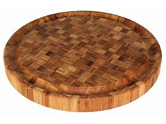 "15"" Round Butcher Block"