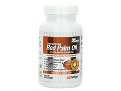 Red Palm Oil plus Safflower Oil, 60ct