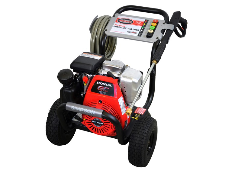 Simpson 3,100PSI Honda-Powered Pressure Washer