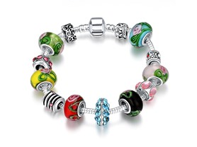 Colors Of the Rainbow Pandora Inspired Bracelet