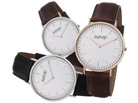 August Steiner Ultra-Slim Japanese Watch - 4 Colors