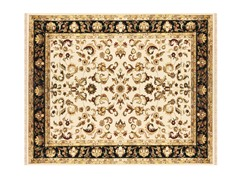 Izmir Collection Rug Ivory/Black