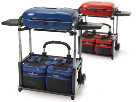 Char-Broil Portable Grill and Cart Combo