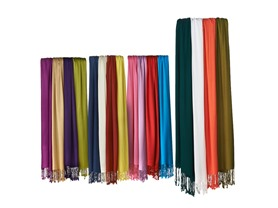 4-Pack Scarves with Satin Finish - Your Choice