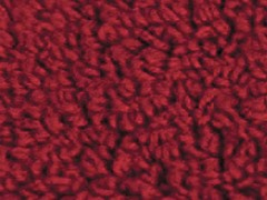 Reversible Cotton Rug -Claret: Multiple Sizes