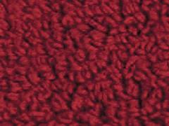 Reversible Cotton Rug -Claret: Multiple Sizes