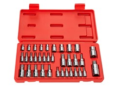Drive Bit Socket Set, 35-Piece