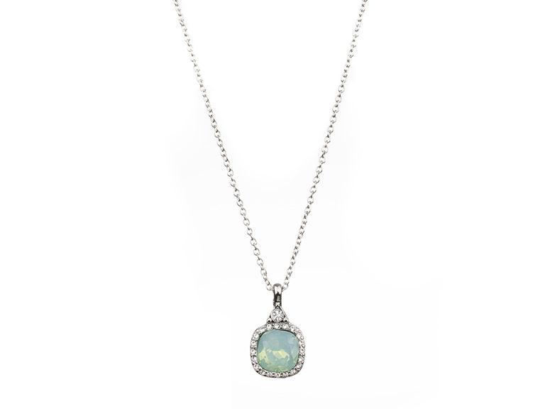 Drop Gemstone Necklace