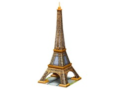 216-Piece Eiffel Tower 3-D Puzzle