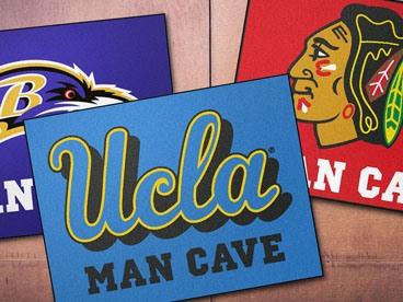 NCAA, NFL, & NHL Man Cave All Star Mats