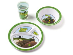 3-Piece Melamine Set - Work Hard