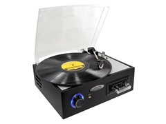 Multifunction Turntable w/ MP3 Recording etc