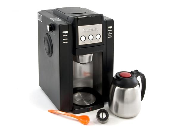 Kalorik Magic Bean 10-Cup Coffee Maker with Built-in Burr Grinder