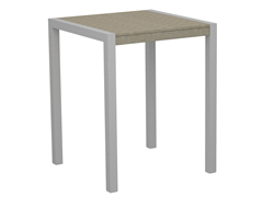 MOD Counter Table, Silver/Sand