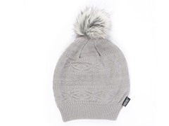 MUK LUKS® Knit Beanie with Fur Pom