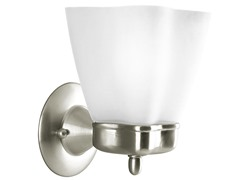 1-Light Bath Light, Nickel