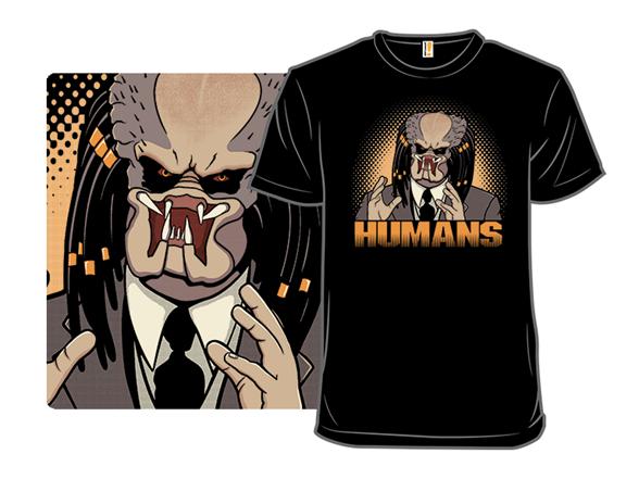 "Image of """"""humans"""" T-shirt T Shirt"""