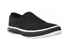 Men's Canvas Crossover Shoe - Black