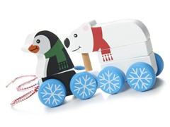 Penguin & Polar Bear Pull Along
