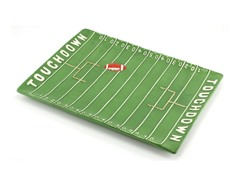 Tailgate Touchdown Serving Tray