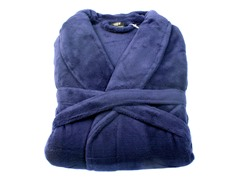 Boston Robe-Navy-Small/Medium