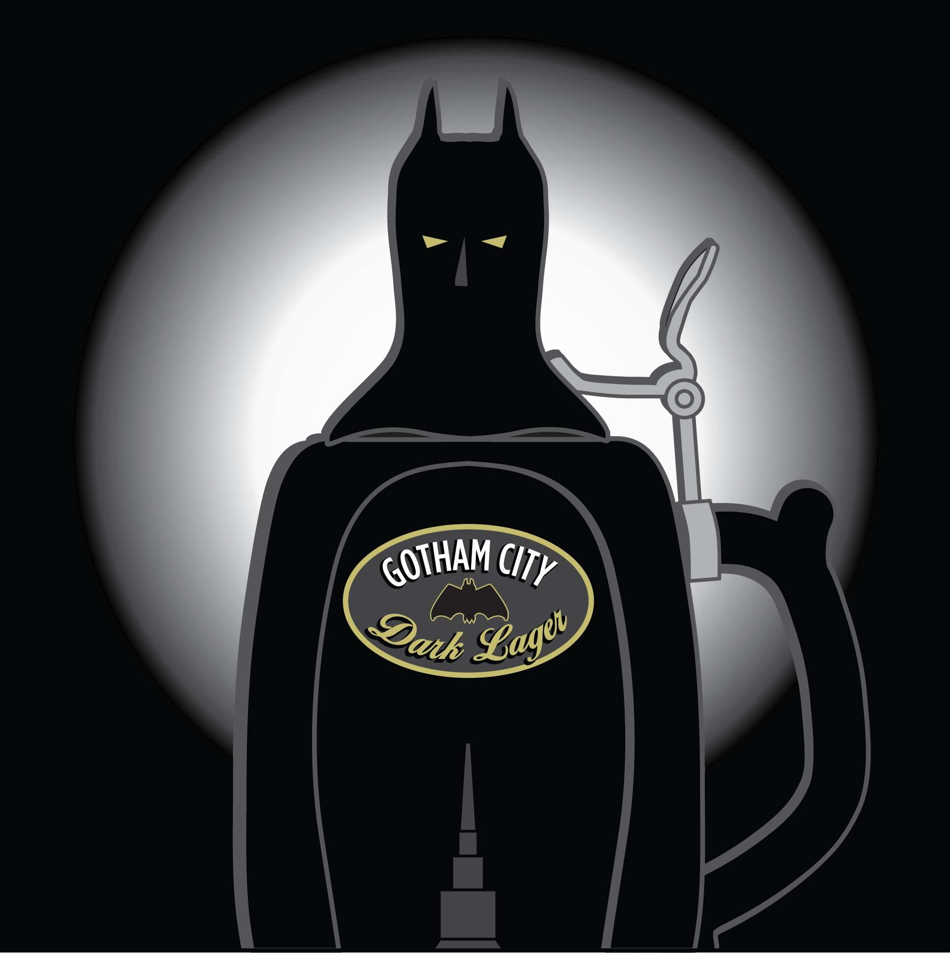 Gotham City Dark Lager