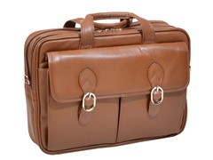 "Kenwood Leather 15.4"" Laptop Case"