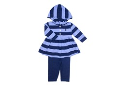 2-Pc Set Blue Tunic Legging Set (3-9M)