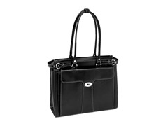 "Quincy 15.4"" Leather Ladies' Laptop Case"