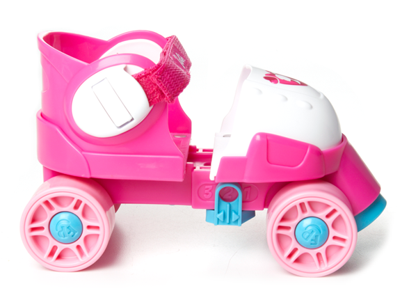 Rollerblades And Toys : Grow with me roller skates barbie kids toys