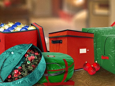 Holiday Decor Storage Stuffs