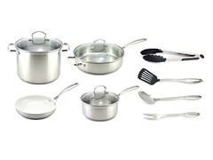 Kevin Dundon 11 Piece Cookware Set SS