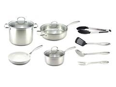 Kevin Dundon 11 Piece Cookware Set SS
