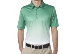 Performance Gradient Golf Shirt - Shamrock Green