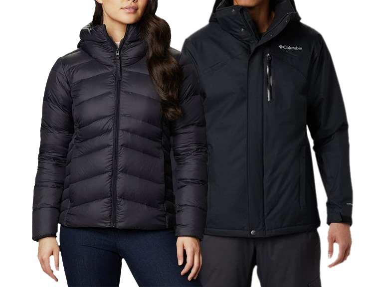 Columbia Men's and Womens Winter Apparel