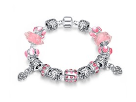 """Girls Just Want to Have Fun Pandora Inspired Bracelet"