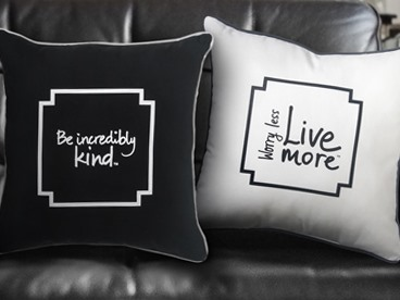 Decorative Pillows From Le Motto Home