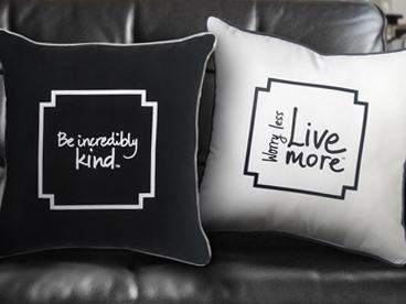 Decorative Pillows: Le Motto Home