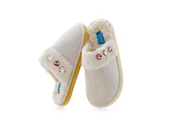 MOGO Mosies Slippers - Cream (Kid 11/12)