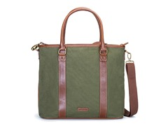 AVI-8 Canvas Tote Bag, Khaki Green