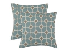 Sofie 17x17 Pillows - Cadet - Set of 2