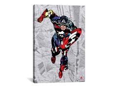 Captain America Super Silhoutte Collage