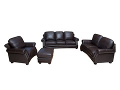 Rivoli 4-Piece Leather Set