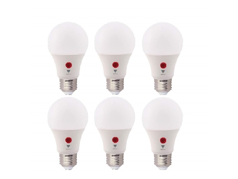 TriGlow LED Dusk-to-Dawn 9W 800 Lumen, 6-Pack