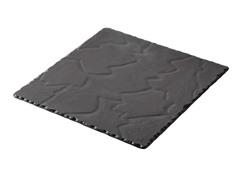 "Basalt Square Plate 7.75"" x 7.75"""