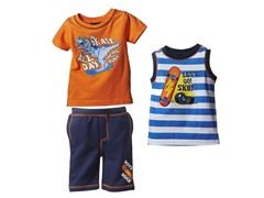 Skater 3-Pc Short Set (2T-4T)