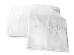 Rayon from Bamboo Sheets-White-2 Sizes