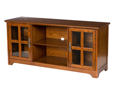 SEI Remington Mission Oak Media Stand